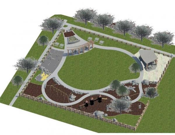 Roy Lynch Park Plan